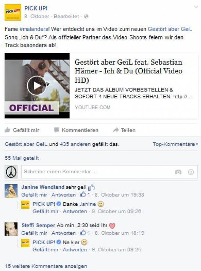 Pick Up Gestört Aber Geil Branded Entertainment Product